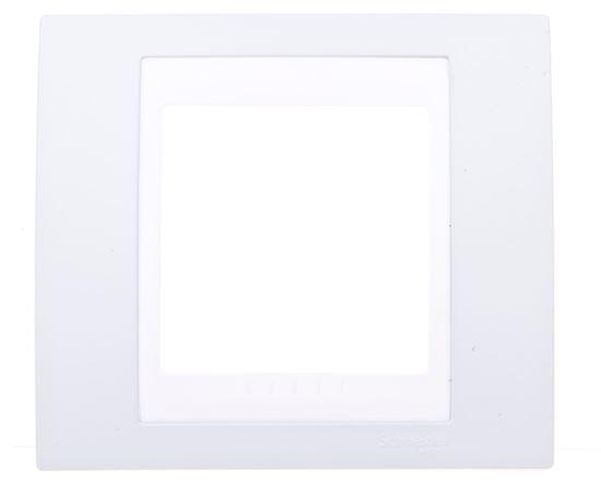 Unica Plus Ramka pojedyncza zielony pozioma MGU6.002.870