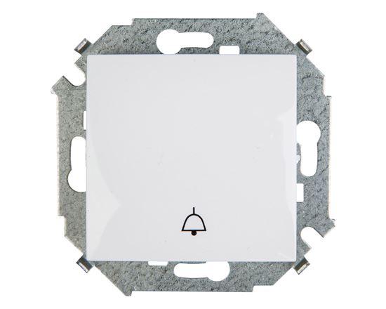 Simon 15 Przycisk /dzwonek/ biały 1591659-030