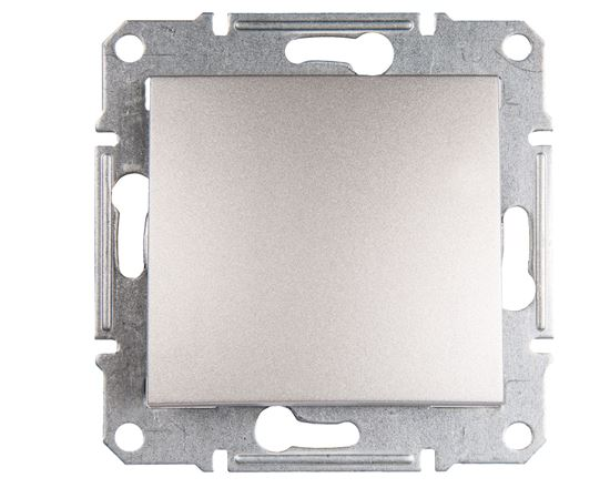 Sedna Łącznik schodowy 10AX aluminium IP20 SDN0400160