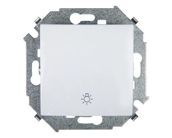 Simon 15 Przycisk /światło/ biały 1591651-030