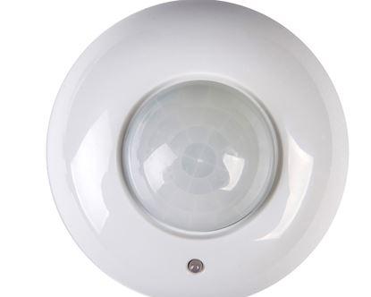 Czujnik ruchu 1200W 360st. ZONA JQ-37-W biały 00464