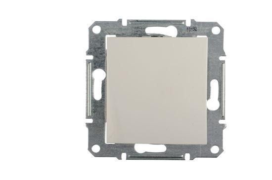 Sedna Łącznik schodowy 10AX biały IP44 SDN0400521