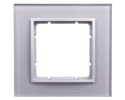 B.7 Ramka pojedyncza szklana aluminiowa 10116414