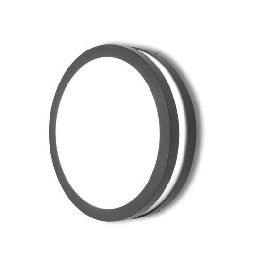 Plafoniera Titan okrągły 1 srebrny