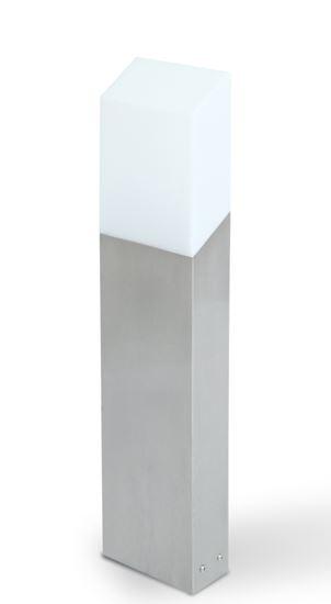 Słupek Flat stalowy 8W 3000K 400Lm IP54