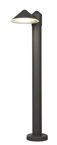 wycofywane Słupek Cone antracyt 12W 4000K 780Lm IP54
