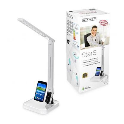 Lampka biurkowa LED StarS white