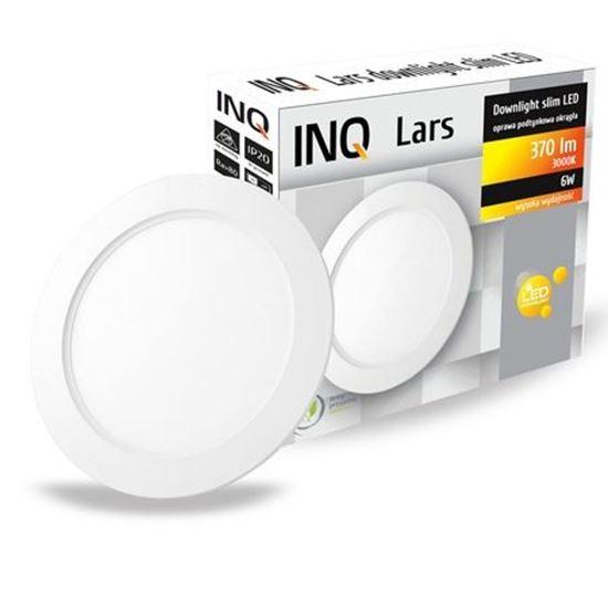 OPRAWA LED p/t DOWNLIGHT LARS okrągła   6W 830 370lm  IP20 slim