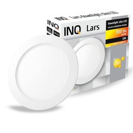 OPRAWA LED p/t DOWNLIGHT LARS okrągła  12W 830 930lm  IP20 slim