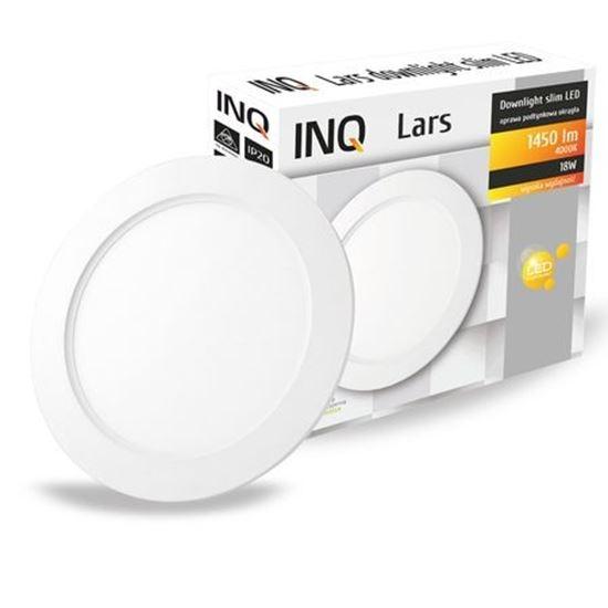 OPRAWA LED p/t DOWNLIGHT LARS okrągła  18W 840 1450lm  IP20 slim