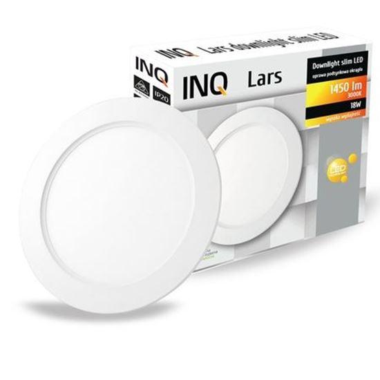 OPRAWA LED p/t DOWNLIGHT LARS okrągła  18W 830 1450lm  IP20 slim