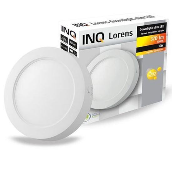 OPRAWA LED n/t DOWNLIGHT LORENS okrągła   6W 830 370lm  IP20 slim
