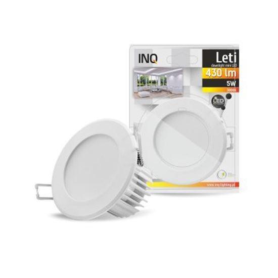 OPRAWA LED p/t LETI oczko 5W 830 430lm IP40 BIAŁA
