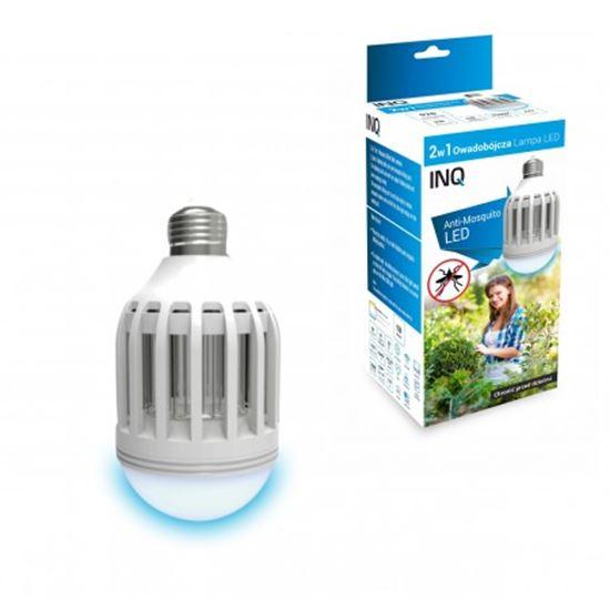 LAMPA LED E27 OWADOBÓJCZA  10W 2w1 3500K INQ