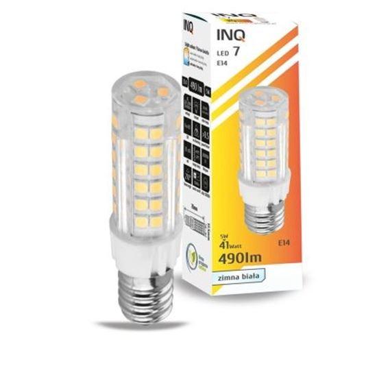 LAMPA LED E14  LED 7 tower 490lm 6000K INQ