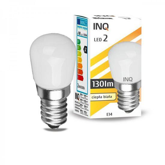 LAMPA LED E14  LED 2  T23 130lm 3000K lodówka INQ