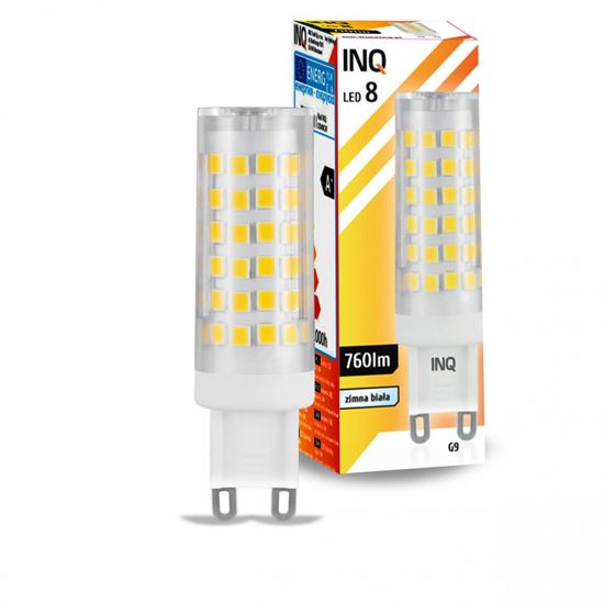 LAMPA LED G9  LED 8 tower 760lm 6000K INQ