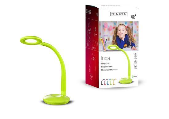 Lampka biurkowa LED INGA GREEN