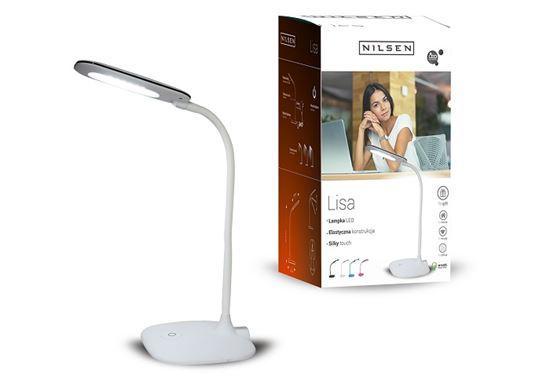 Lampka biurkowa LED LISA WHITE