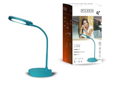 Lampka biurkowa LED LISA BLUE