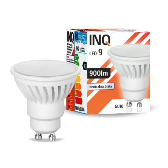 LAMPA LED  GU10 PROFI  LED 9  4000K 900lm ceramika INQ