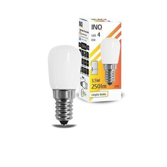 LAMPA LED E14  LED 4 T26 250lm 3000K lodówka INQ