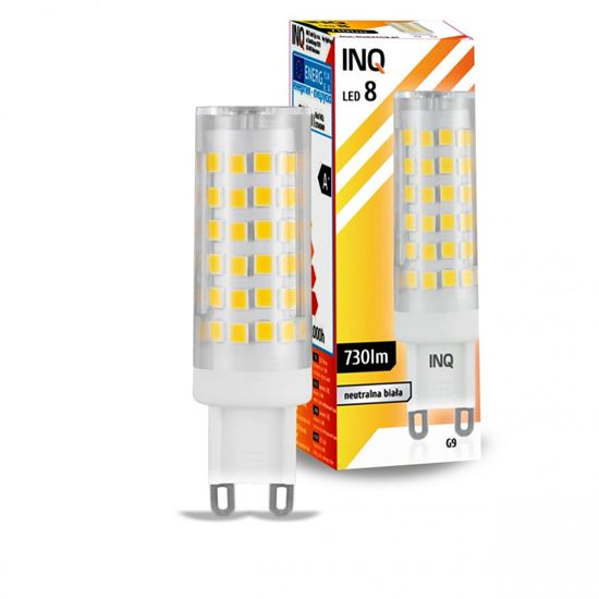 LAMPA LED G9  LED 8 tower 730lm 4000K INQ