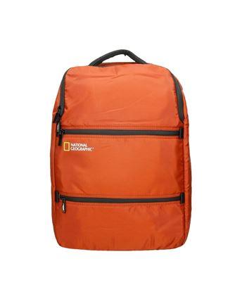 Plecak dwukomorowy U-shape NG Transform 13212 rdzawy