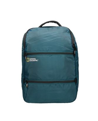 Plecak dwukomorowy U-shape NG Transform 13212 ciemny niebieski