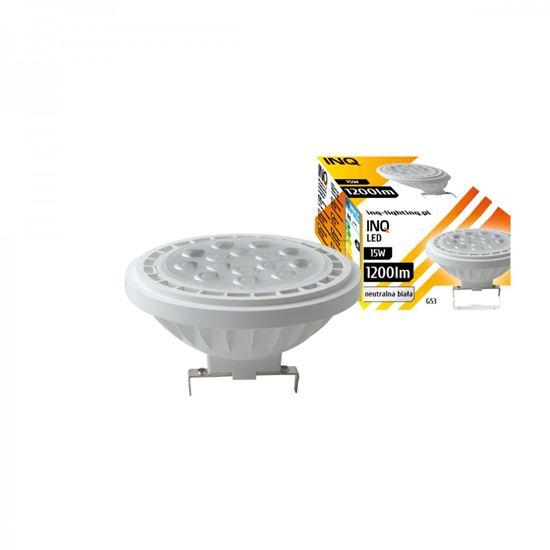 LAMPA LED  AR111  G53 15W 840 12V 36^ 1200lm biały INQ