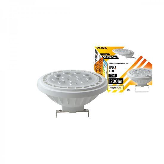 LAMPA LED  AR111  G53 15W 830 12V 36^ 1200lm biały INQ