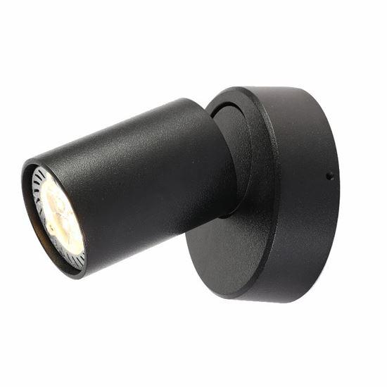 Oprawa  OZZO Cleo 1W-BL spot 1-50W czarna