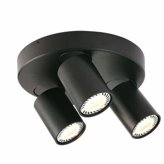 Oprawa  OZZO Cleo 3Q-BL spot 3-50W czarna