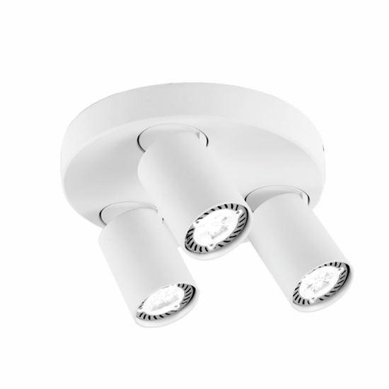 Oprawa  OZZO Cleo 3Q-WH spot 3-50W biała