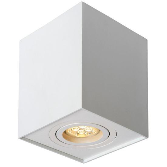 Oprawa OZZO n/t FABIO 1W/W  kwadrat ruchomy biały