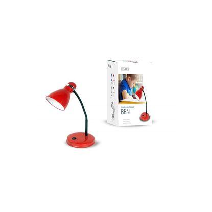 Lampka biurkowa E27 BEN czerwona