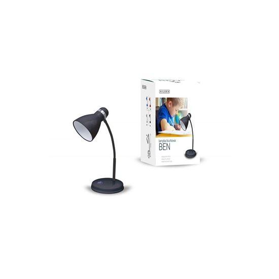 Lampka biurkowa E27 BEN czarna