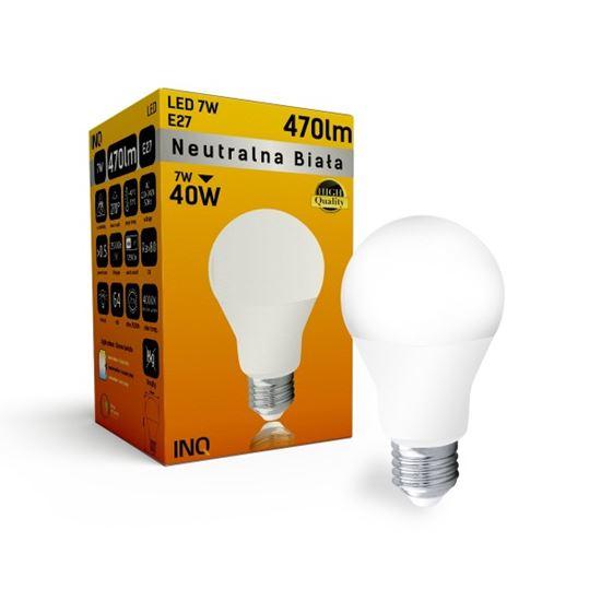 LAMPA A60 E27 LED  7 BULB 470lm 4000K INQ