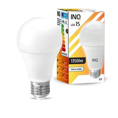 LAMPA A65 E27 LED 15 BULB 1350lm 6000K INQ