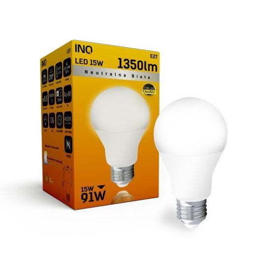 LAMPA A65 E27 LED 15 BULB 1350lm 4000K INQ