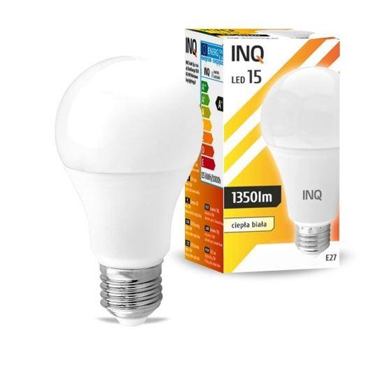 LAMPA A65 E27 LED 15 BULB 1350lm 3000K INQ