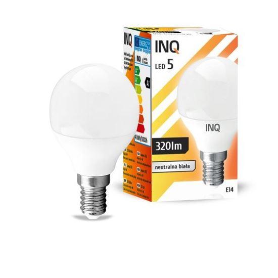 LAMPA  P45 E14 LED  5 KULKA 320lm 4000K INQ