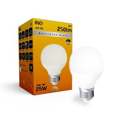 LAMPA  P45 E27 LED  3 KULKA 250lm 4000K INQ