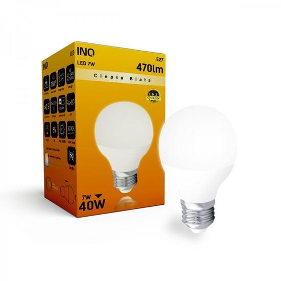 LAMPA  P45 E27 LED  7 KULKA 470lm 3000K INQ