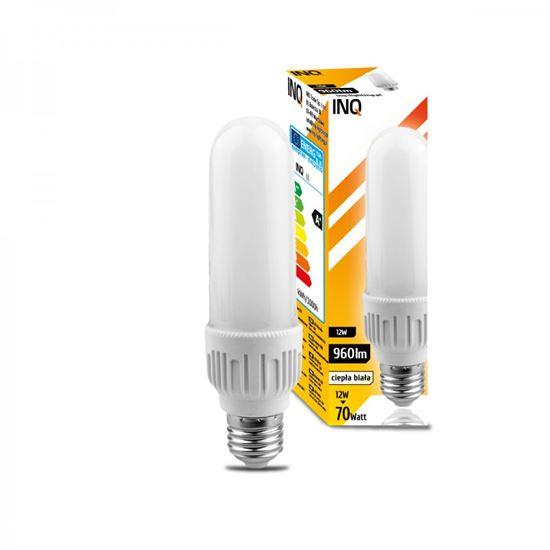 LAMPA LED E27  BULB PROFI  12W T40  830 960lm do plafonier L-161mm  INQ