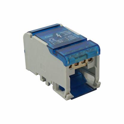 Blok rozdzielczy MBR404 100A  4x4 max 6