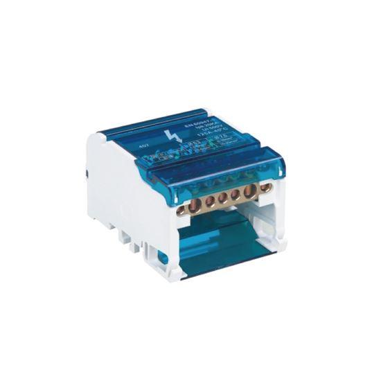 Blok rozdzielczy MBR407 100A  4x7 max 25