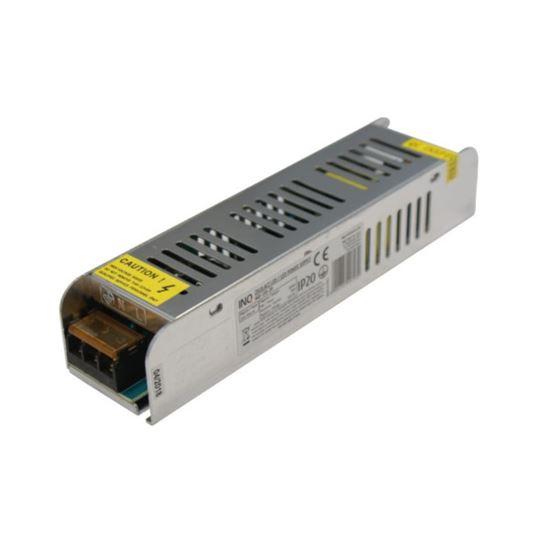 Zasilacz LED modułowy IP20 120W mini size 10A  12V  DC-prąd stały z potencjometrem INQ