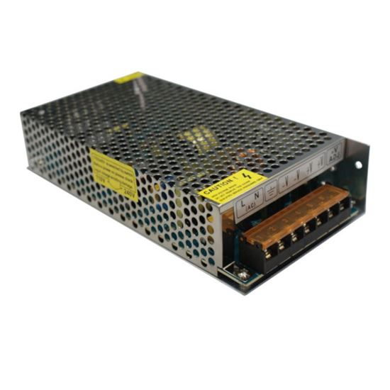 Zasilacz LED modułowy IP20 150W  12,5A  12V  DC-prąd stały z potencjometrem INQ