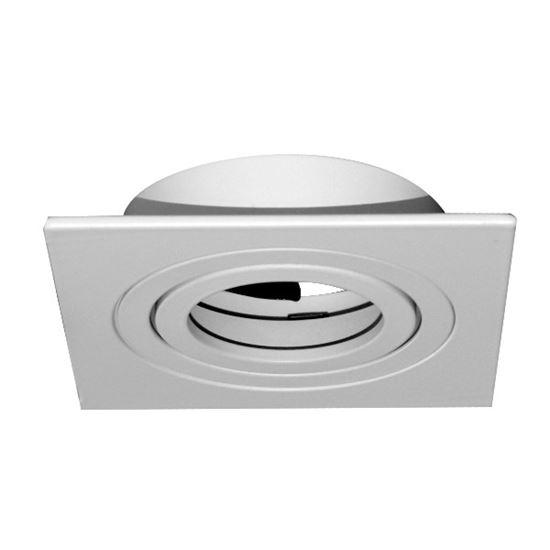 Oprawa OZZO MINO 222-WH kwadratowa IP20 ALU biały
